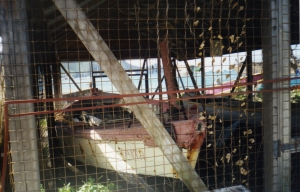 old whaling boats, Bequia